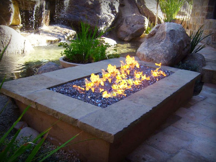 Gas Fire Pits Minneapolis Mn Gas Fire Pit Installation